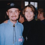 Con Kathy Mattea (1997)