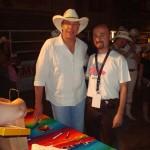 Con Michael Peterson (2008)