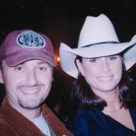 Con Terri Clark (2003)