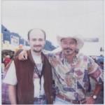 Con Tony Lewis (1998)