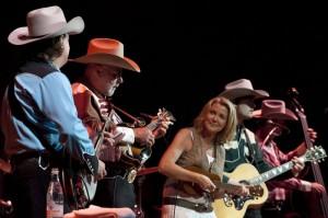 I Texas Lightning durante la loro esibizione (C)PIERRE KHIM & HéLèNE DODDET-ART PHOTO GSTAAD