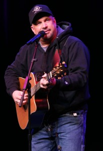 Garth Brooks all'Encore Theater di Las Vegas lo scorso 11 dicembre - Foto: Henry Diltz