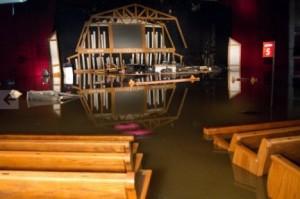 Il Grand Ole Opry sommerso dall'acqua