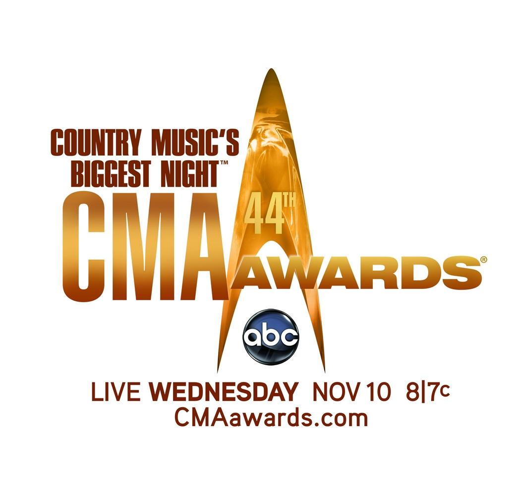 Il logo dei 44esimi CMA Awards