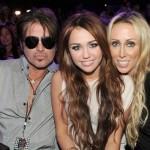 La famiglia Cyrus ai Kids Choice Awards 2010