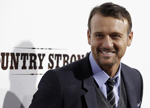 "Tim McGraw alla presentazione americana del film ""Country Strong"""