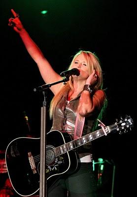 Miranda Lambert al Billy Bob's Texas di Ft. Worth lo scorso venerdì (Foto Rachel Parker/Star-Telegram)