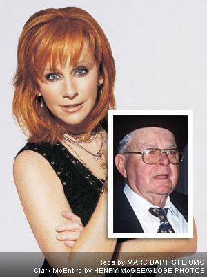 Reba McEntire e suo papà Clark