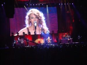 Taylor Swift al Forum di Milano lo scorso 15 marzo 2011