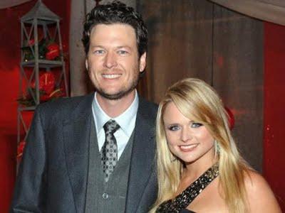 Blake Shelton Miranda Lambert sposi