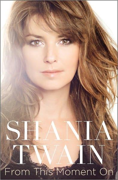 La copertina del libro di Shania Twain