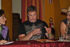 Darryl Worley in conferenza stampa (Foto Massimo Annibale)