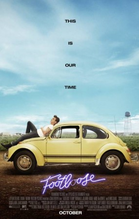 "Il poster del remale di ""Footloose"""